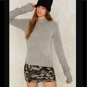 R104 Cheap Monday honor knit sweater