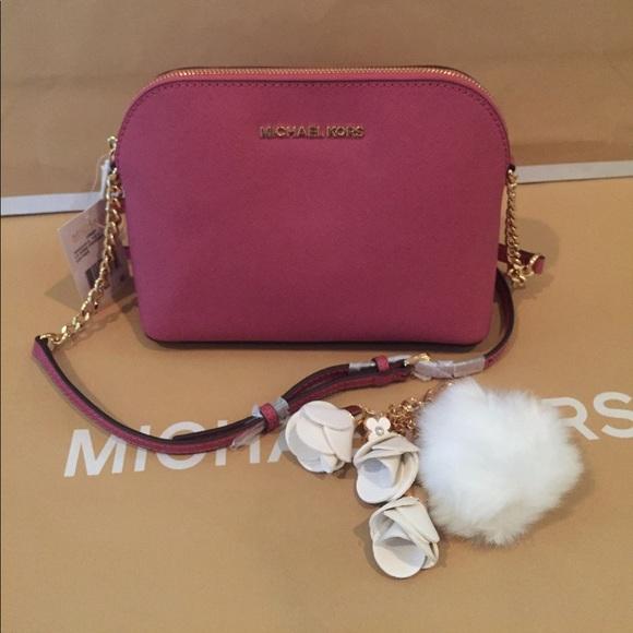 d87c7ec0eae21d Michael Kors Bags   Cindy Tulip Dome Crossbody   Poshmark