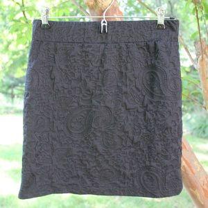 Forever 21 Bodycon Textured Skirt
