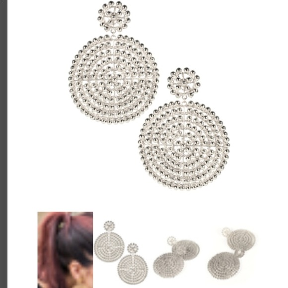 4eba3b172 lisi lerch Jewelry - Lisi Lerch disc earrings silver southern charm