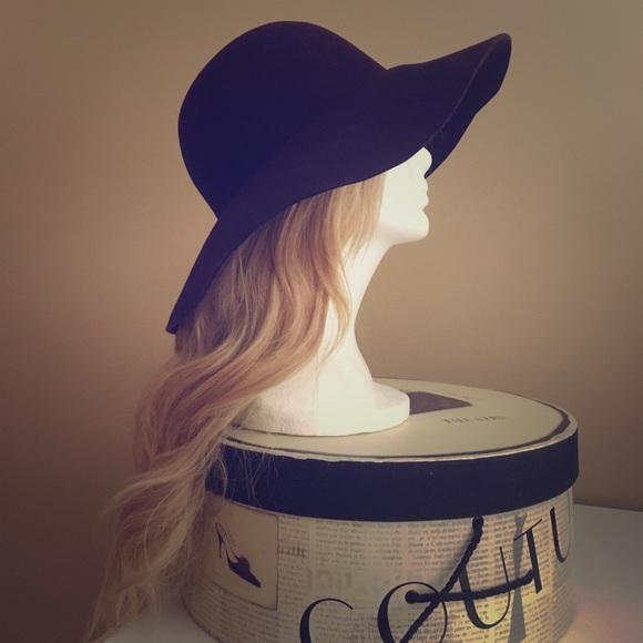 a06465232730d3 Karen Kane Accessories | Deep Plum Purple Floppy Hat | Poshmark