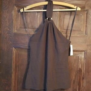Ann Taylor Tops - ANN TAYLOR THICK RAYON HALTER TOP-NWT!SO CUTE!