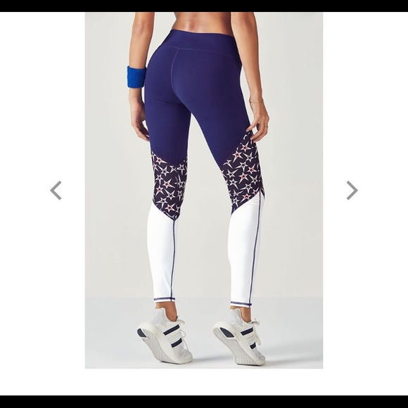 e1d9ac8e96c240 Fabletics Pants | Price Drop Usa Star Leggings Nwt | Poshmark