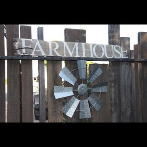 Other - Farmhouse Rustic Wood Sign