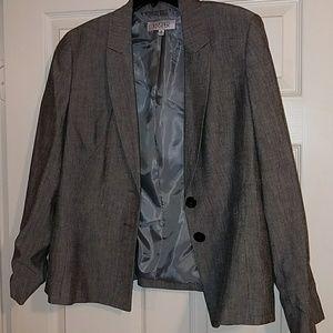 Gray blazer. Never worn