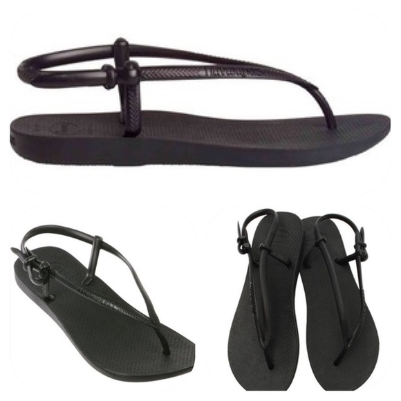 173a8af6ef86e4 NWT NEW Havaianas Slim Fit Ankle Strap 37-38 NEW