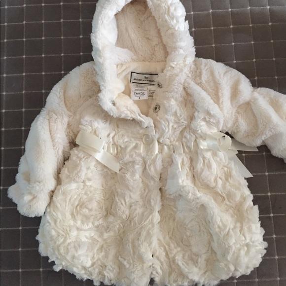 6306e4128 american widgeon Jackets & Coats | Girls Faux Fur Winter Coat Brand ...
