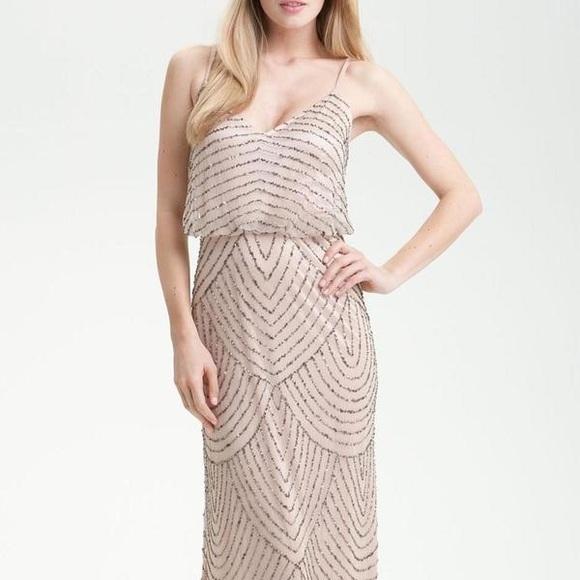 Floor Length Beaded Dresses