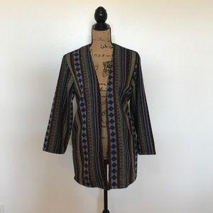 Forever 21 oversized tribal blazer!