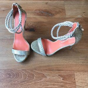 Via Spiga glitz heels