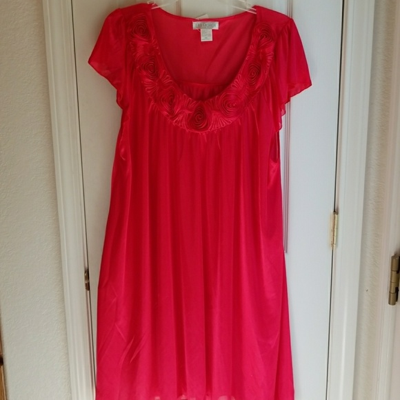 97c380da7405 LATI FASHION Intimates & Sleepwear | Nwt Cherry Red Nightgown | Poshmark