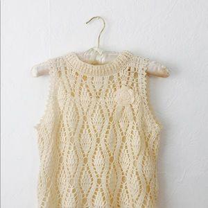 Tops - 💕New knit crop top S💕