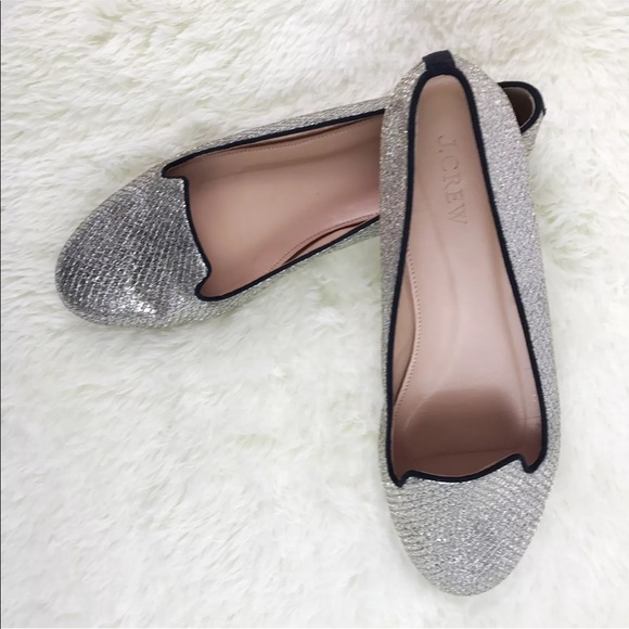 c51cf1599a4 J Crew Shoes - 💎JCrew Sophie Mermaid Glitter Loafer Flats 8.5