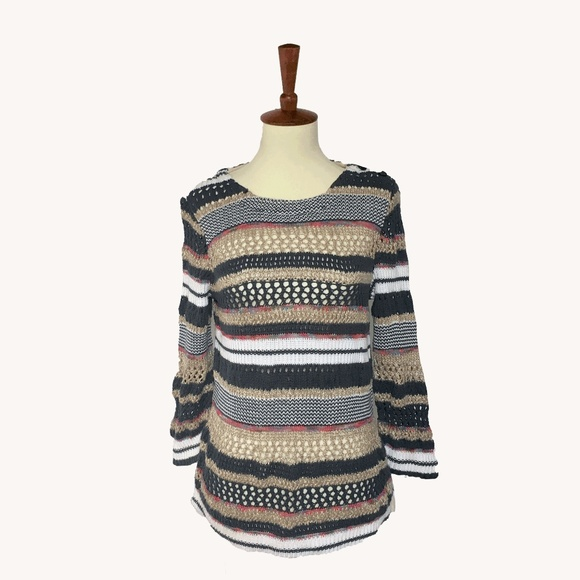 Anthropologie Sweaters - Striped Knit