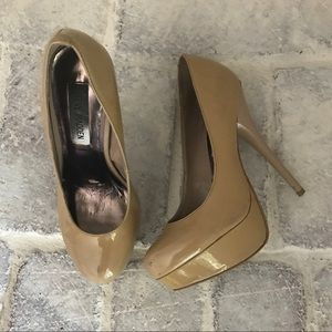 Steve Madden Patent Leather Platform Pumps