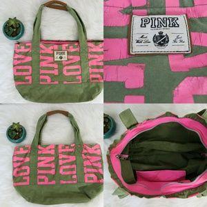 Victoria's Secret PINK duffle overnight Bag