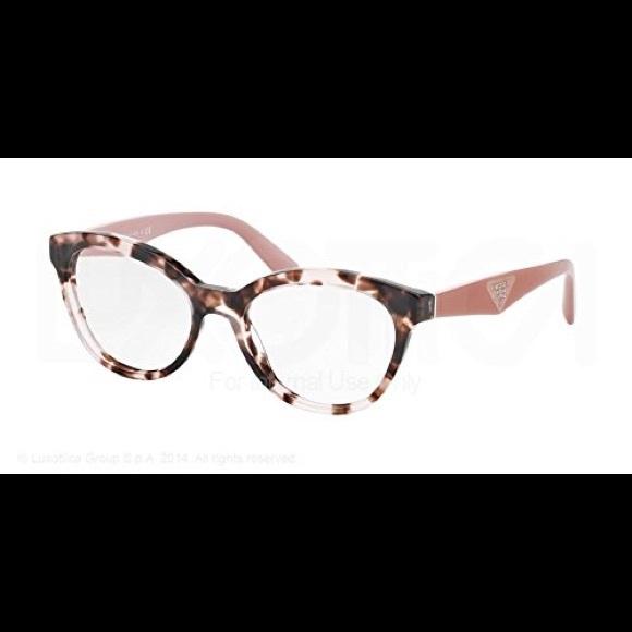 8ea99e797a Prada Pink Havana PR 11RV Eyeglasses. M 59a49f463c6f9fedf500751f