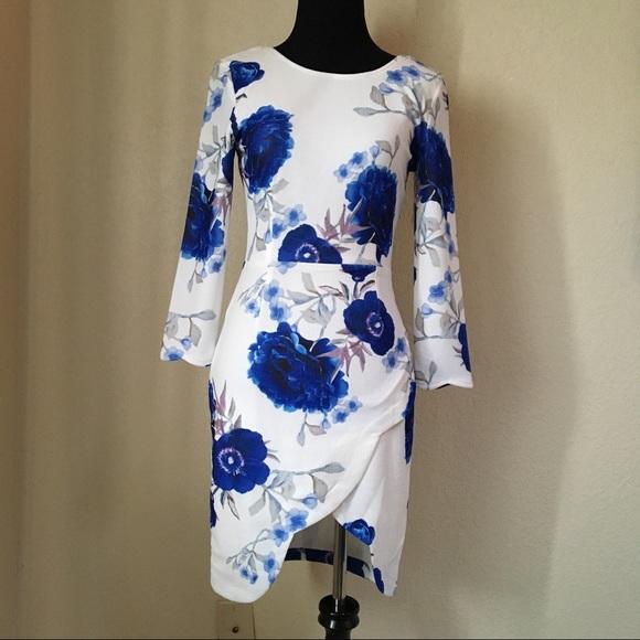 25% off Angel Biba Dresses & Skirts - Dark Blue Mini Dress