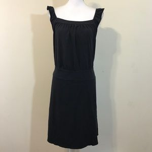 Ann Taylor LOFT Charcoal Sleeveless Dress