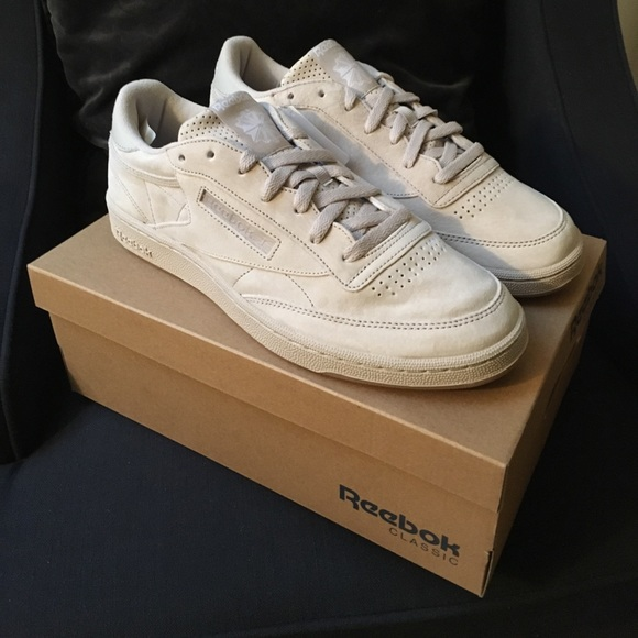 Reebok Club C 85 SG Sandstone White Gum Size 11 b2a5dbcfe