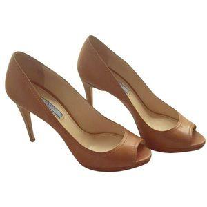 Wedding Dress Prada Open Toe Heels