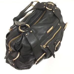 Excellent condition black leather Michael Kors bag