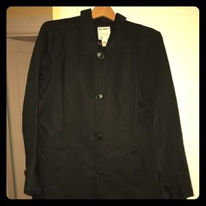 Old Navy Black Trench
