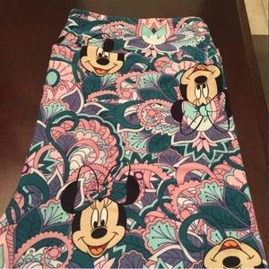 Lularoe Disney TC Leggings New Paisley