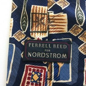 ferrell reed for Nordstrom Other - Ferrell Reed for Nordstrom 💯 Silk Tie