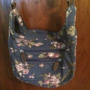 Floral Cross-Body Bag