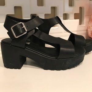 686c20f079e Steve Madden Shoes - Steve Madden Stefano Block Heel Platform Sandal