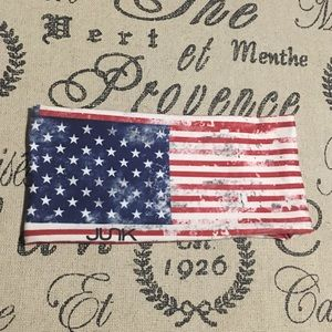 2a69e1e1bd8a JUNK BRANDS Accessories - American Flag workout headband