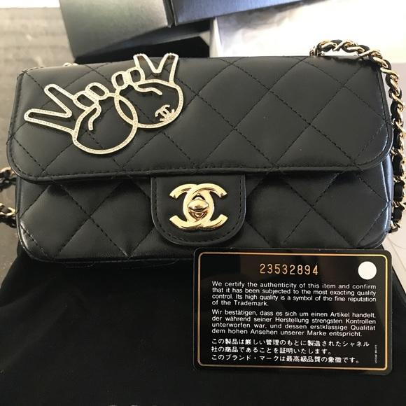 02d799967259 CHANEL Handbags - Chanel Victory Peace Emoji ✌🏽 Extra Mini Flap Bag