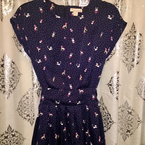 Forever 21 Dresses & Skirts - Forever 21 Kawaii Unicorn, Bunny, Kitty Dress