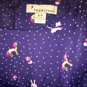 Forever 21 Dresses - Forever 21 Kawaii Unicorn, Bunny, Kitty Dress