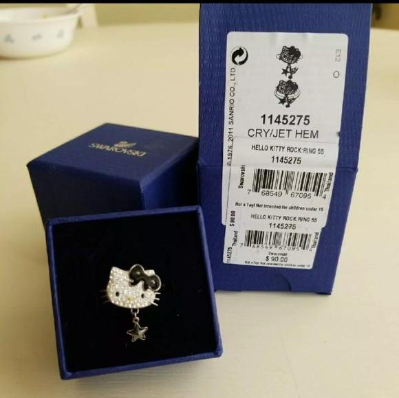 44eba1b87 Swarovski Hello Kitty Rock Star Ring. M_59a4d31da88e7da55e00df0e