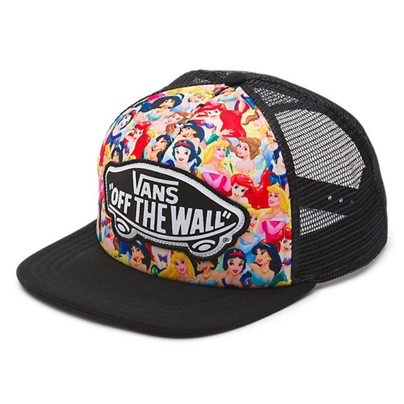 9e60999e9db Vans Disney princess hat. M 59a4d5842ba50af43b00f20d. Other Accessories ...