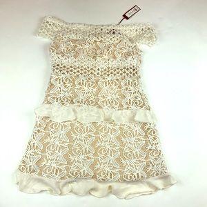 Romeo + Juliet Couture Crochet Lace Dress