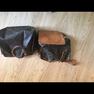 Handbags - VINTAGE LUIS VUITTON HANDBAGS SET OF 2