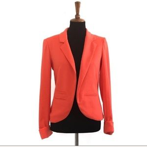 Willow & Clay Hot Orange Blazer Size Small
