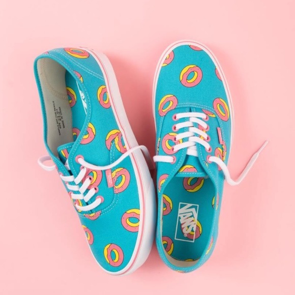 558327968cbf Vans Odd Future Authentic Scuba Blue Donut Shoes. NWT. OFWGKTA