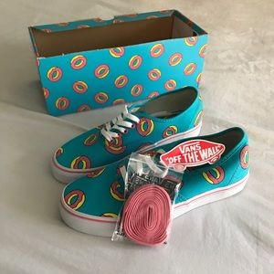f34119fd0b30 OFWGKTA Shoes - Vans Odd Future Authentic Scuba Blue Donut Shoes