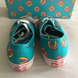 c4e12541381e8a OFWGKTA Shoes - Vans Odd Future Authentic Scuba Blue Donut Shoes