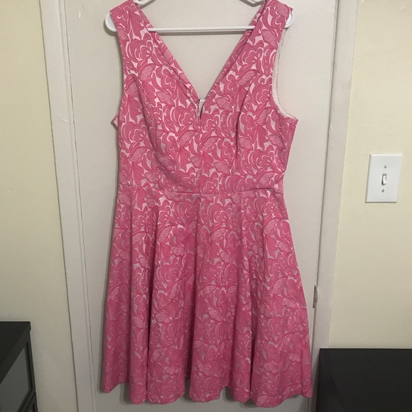 866cbddd86528 Anthropologie Dresses & Skirts - Maeve Claribel Pink Fit and Flare Dress  {Sz ...