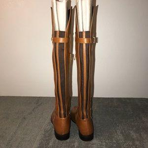 e3b2168ddd1 Bar III Shoes - Bar III Daphne Banana Bread Over the Knee Boots