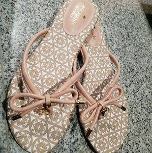 New Kate Spade new mistic bow flat thong sandal