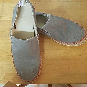 PAUL SMITH JEANS SLIP ONS  CANVAS.ONE HOUR SALE !!