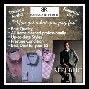 Banana Republic - Buy from a Trusted Seller!