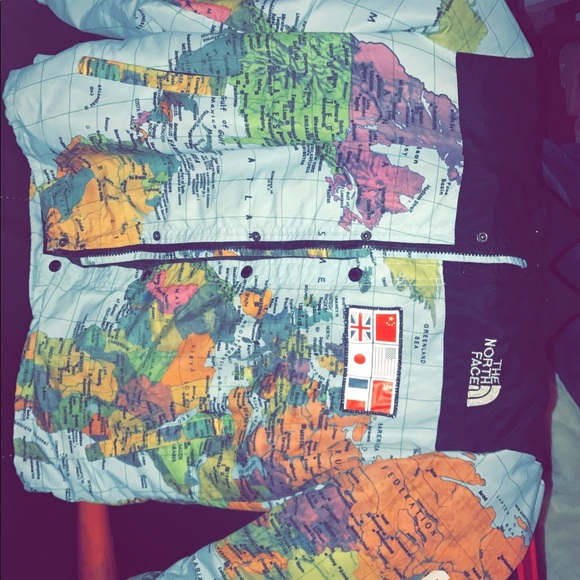 653d64e0a Supreme X North face expedition map