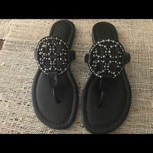 71ade17079624 Tory Burch Shoes - NWT Authentic Tory Burch Miller Embellished sandal
